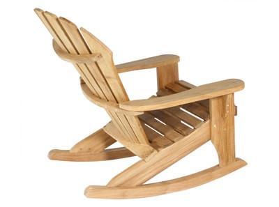 Adirondack Rocking Chair Wood