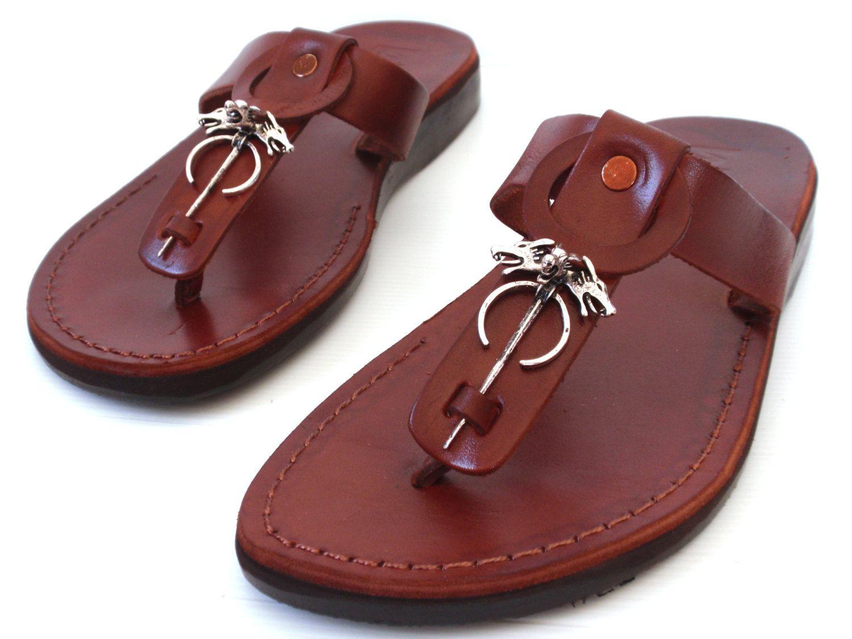 5af7880ad69213 Leather Sandals GAMES Of THRONE Men s Shoes Jesus Jerusalem Strappy Thongs  Flip Flops Flats Slides Slippers Biblical Colored Footwear by Sandalimshop  on ...