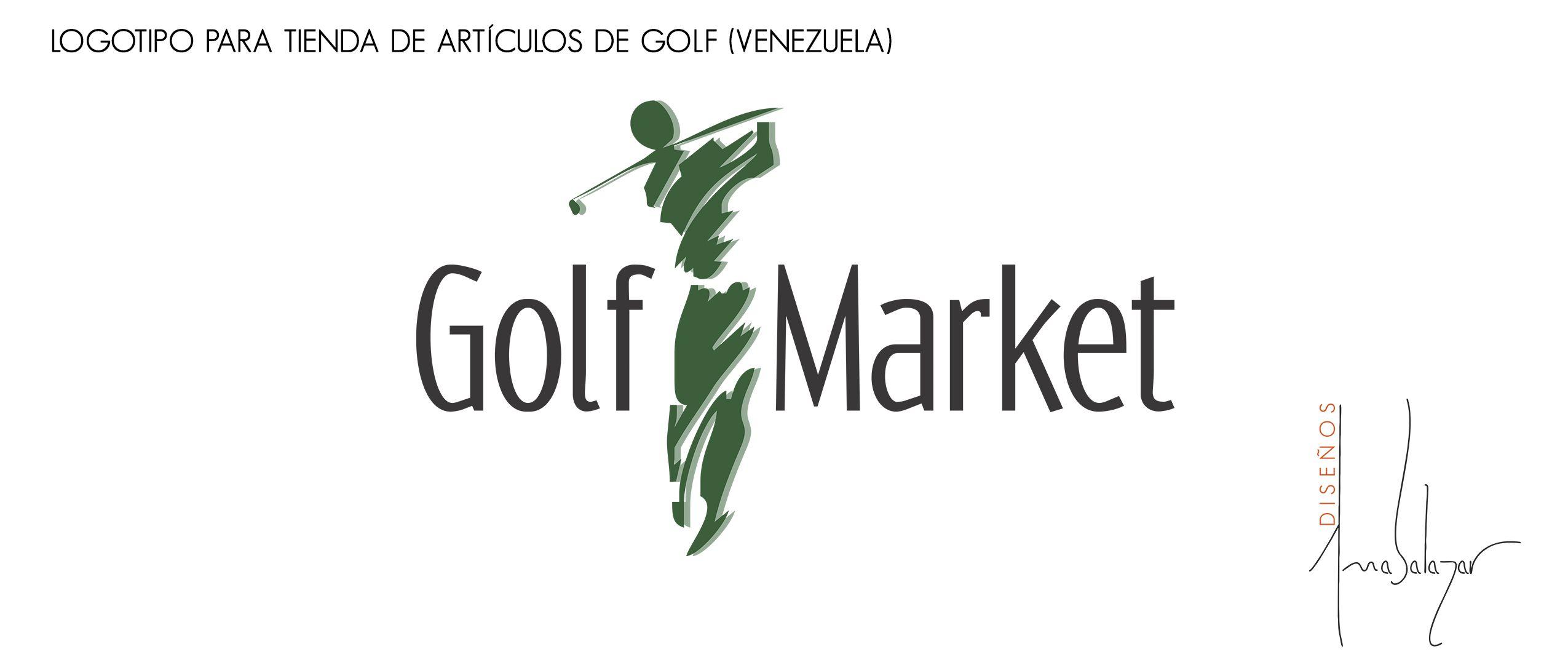 Diseño de Logotipo para una Tienda Comercial de venta de Accesorios para Golf