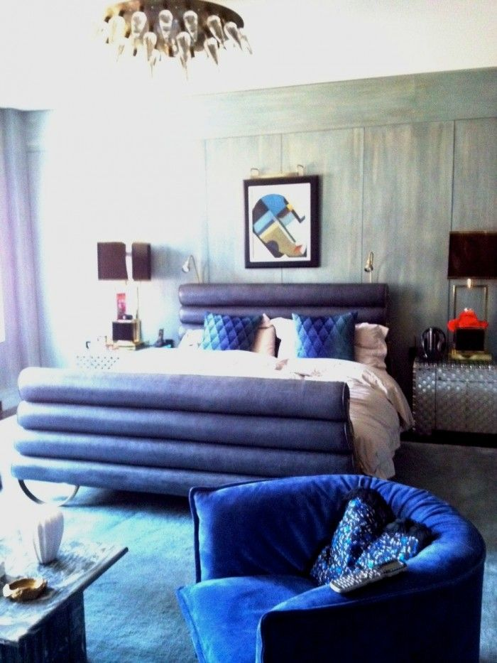Kelly Wearstler Tribeca Home Love The Channel Bed
