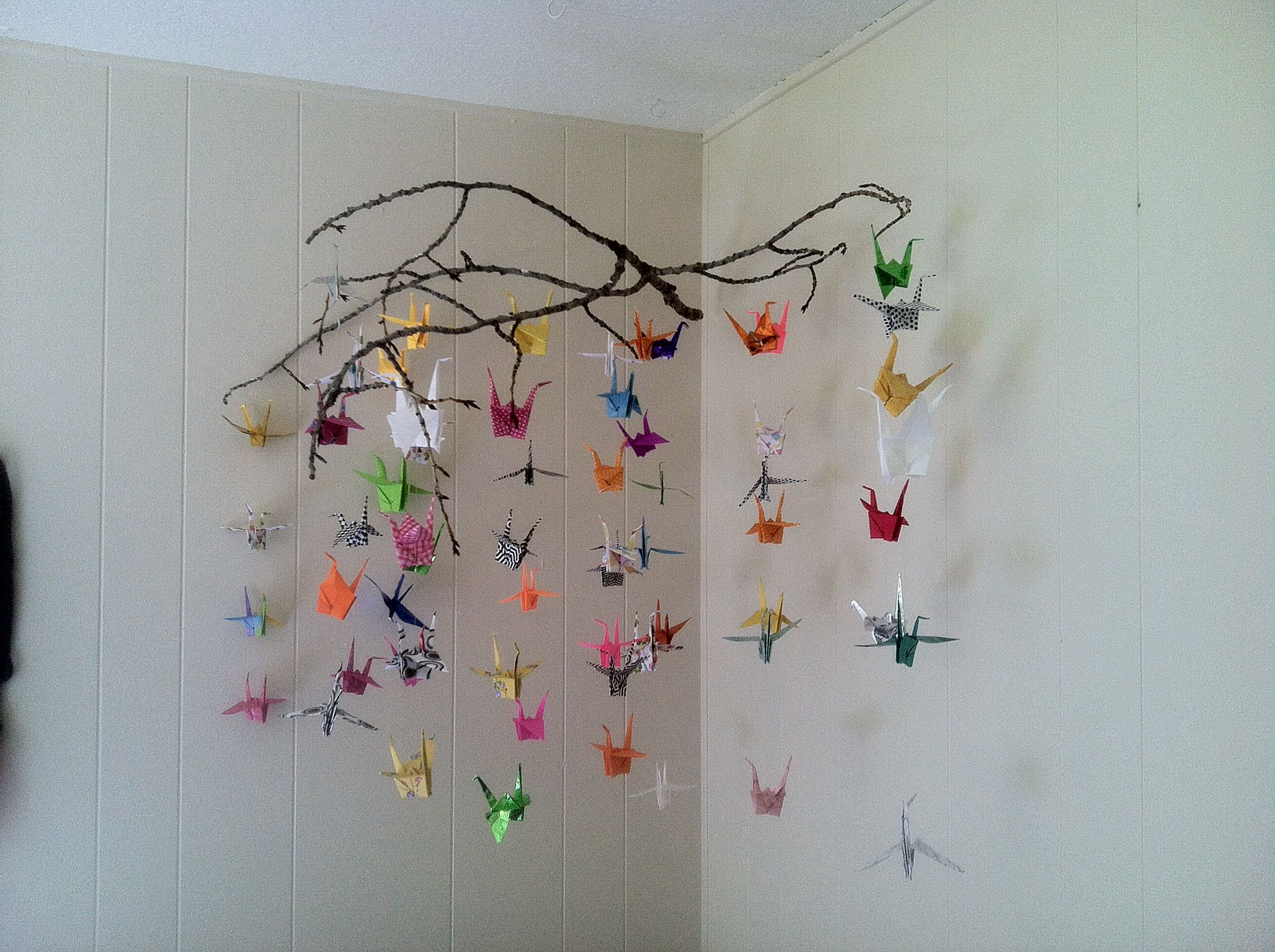 Lucy May's Origami Crane Mobile |DC Creations| | |DC ... - photo#34