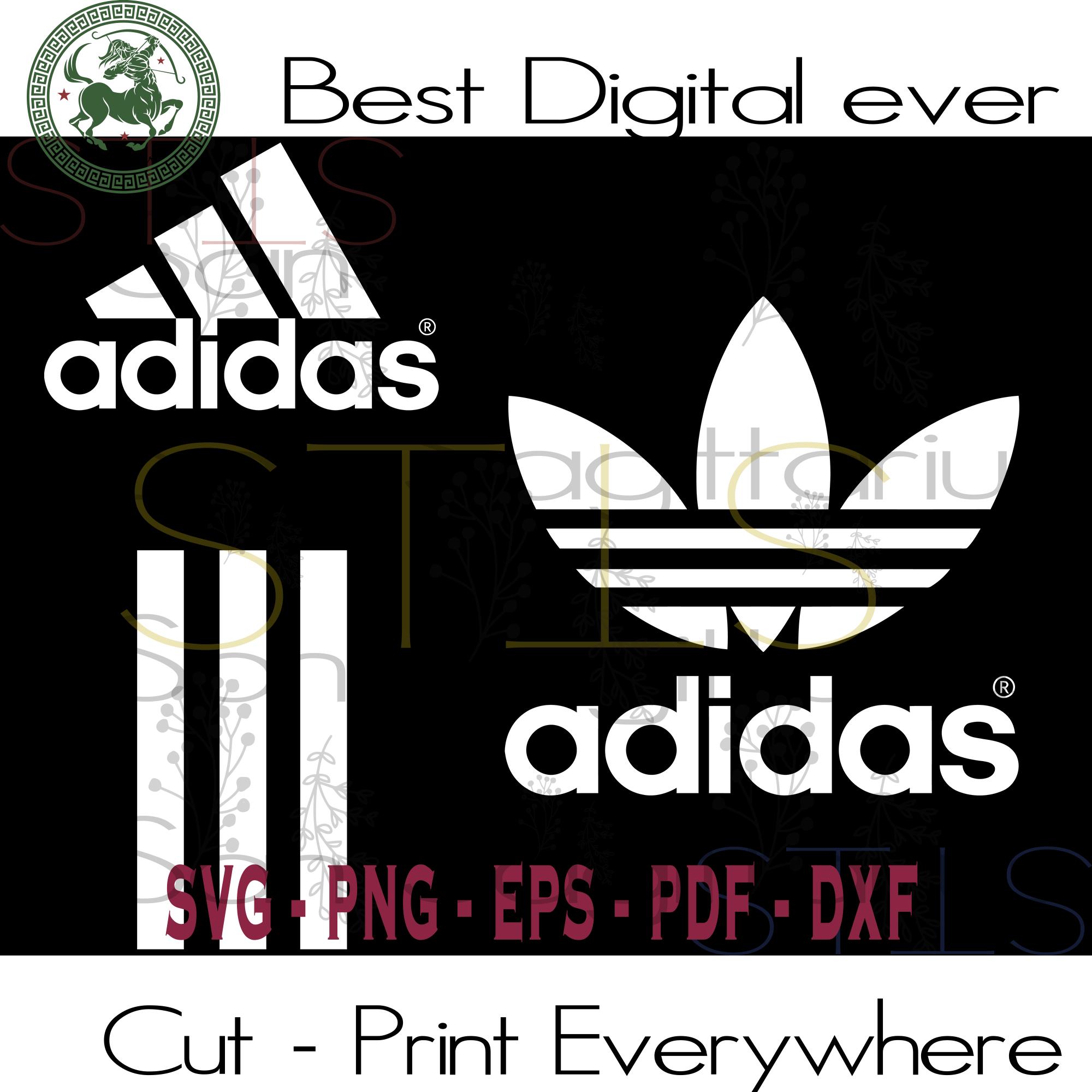Adidas Logo, Adidas Svg, Vintage Adidas, Adidas Vintage