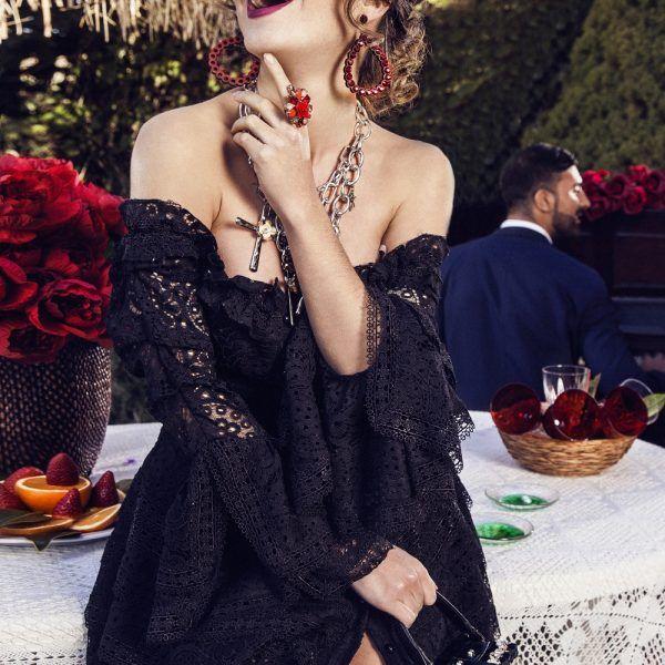 Precioso  vestido  Morgan  negro de la firma  Mängata!! ¿Te gustaría ... 8233c5d49ffe1