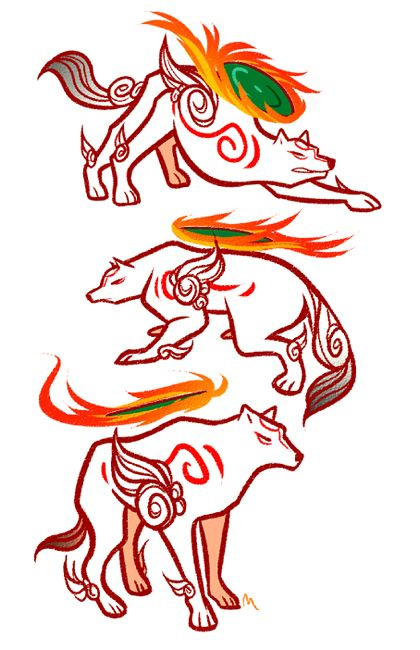 One Of My Favorite Artists Amaterasu Okami Video Game Tattoos