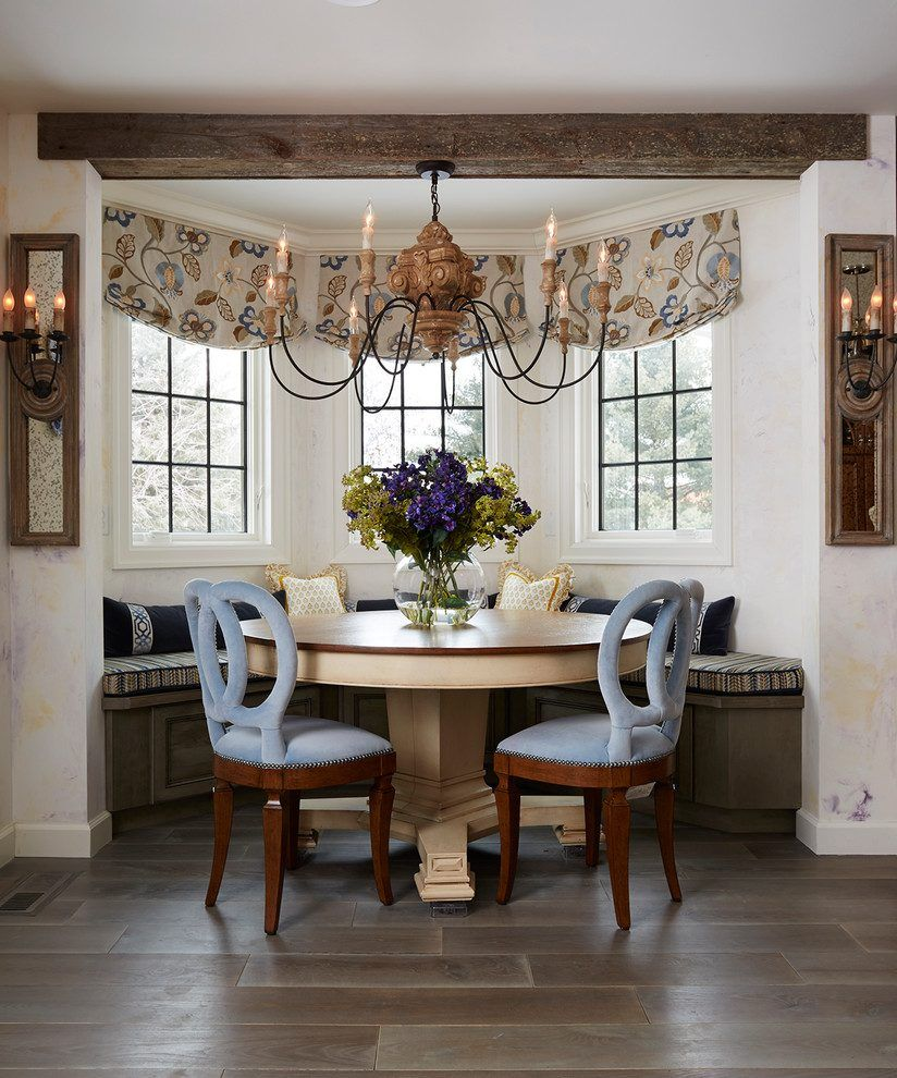 Image result for family room window banquette