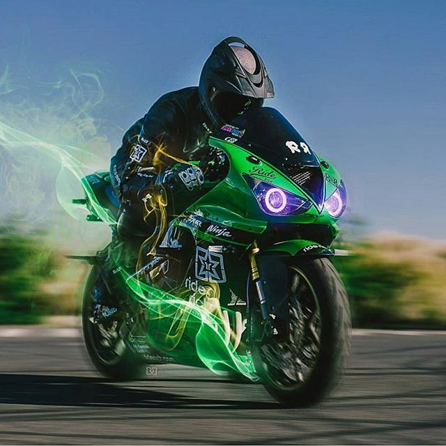 Kawasaki Ninja. Motorcycles, bikers and more