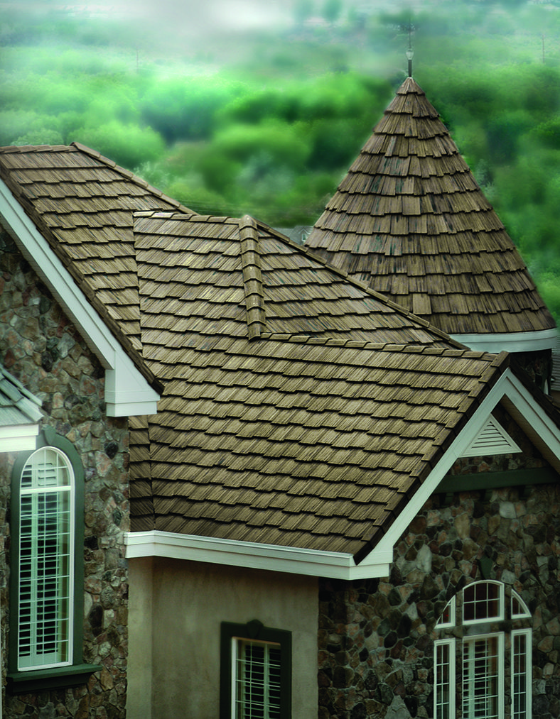 5502 Ponderosa Arcadia Staggered Installation Roofing Concrete Roof Tiles Craftsman House