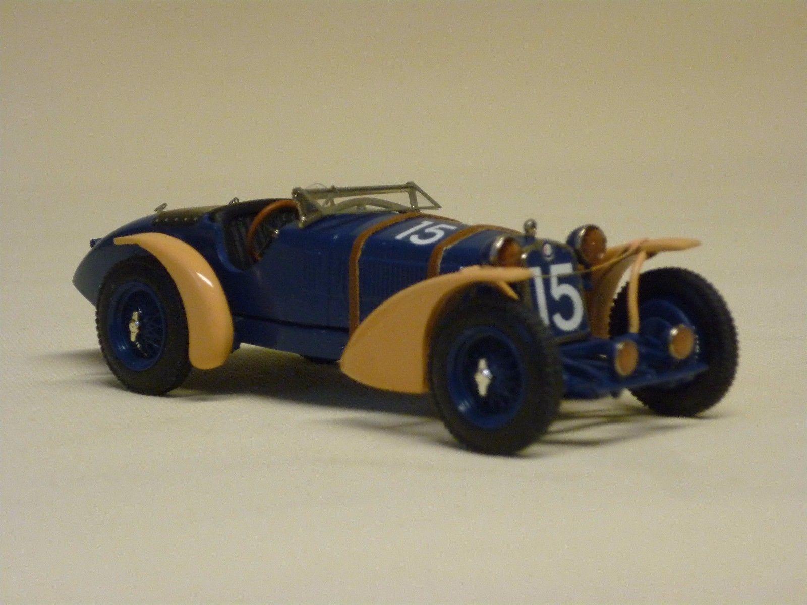 24H LE MANS 1935 -  ALFA ROMEO 8c 2300  #15 - Raymond Sommer - Raymond d´Edrez de Saugé - Modello MCM