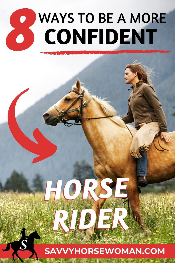 8 Ways to Gain More Confidence as a Horse Rider - Savvy Horsewoman