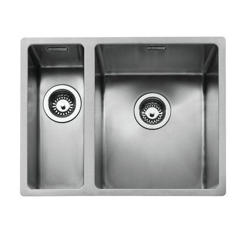Brianne 55cm X 43cm 1 1 2 Inset Kitchen Sink Belfry Kitchen Drainer Position Left Sink Kitchen Sink Stainless Steel Sinks