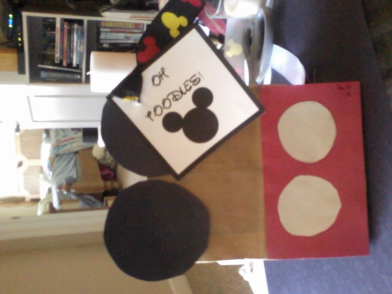 Mickey Mouse Birthday 2 Year Old Party Gift Bags DIY