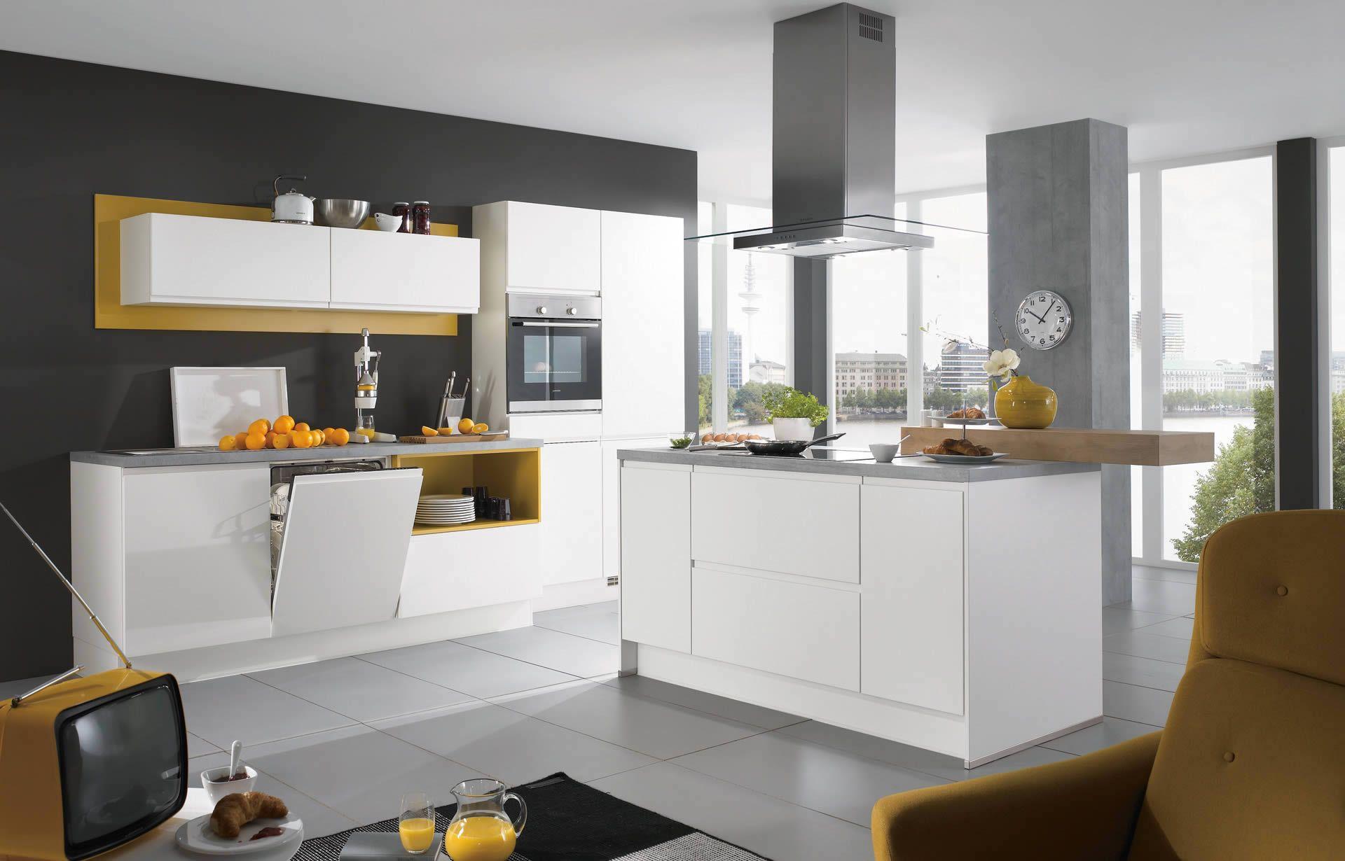 Nobilia Produits Galerie Blanc Déco Cuisine Pinterest - Meuble de cuisine nobilia pour idees de deco de cuisine