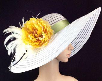 Derby Hat Kentucky Derby Hat Dress Hat Church by theoriginaltree Ascot  Horse Racing b2d37b37c83e