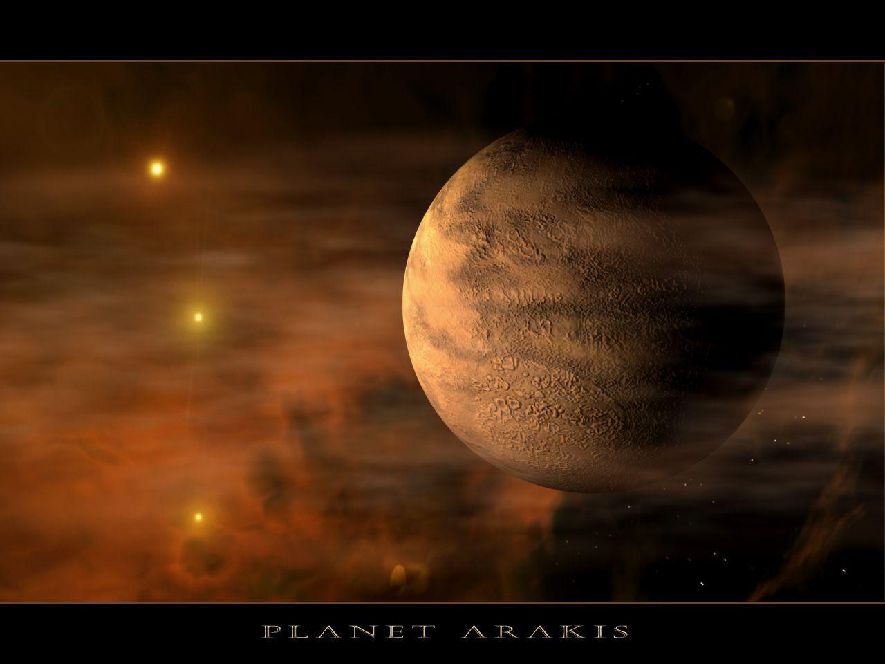 Fond D Ecran Planet Arakis Fond Ecran Espace Univers Univers