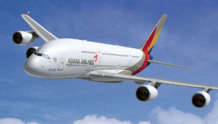 Asiana Airlines is taking me home! Asiana airlines