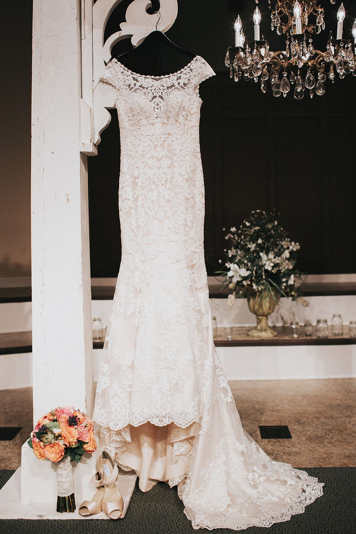 Eddy K. Wedding Dress: Dreams Collection Bella in ivory/champagne ...