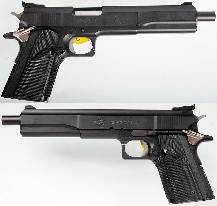 lar grizzly 45 win mag pistol the gun aficionado pinterest