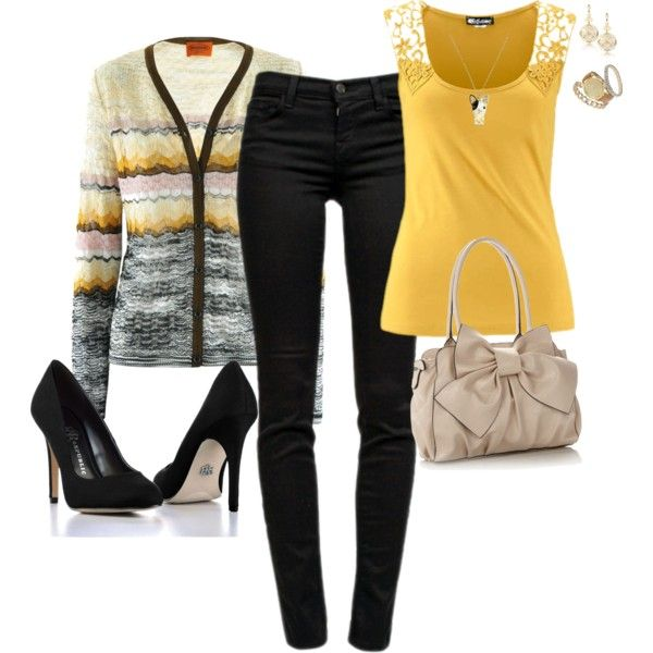 """""""Sweet Yellow"""" by angelysty on Polyvore"""