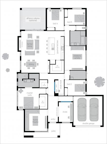 St Tropez 16 Executive Elite Floor Plan Duplex Floor Plans Floor Plans Dream House Plans