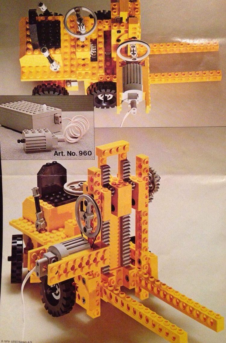lego technic 950 motor my vintange lego sets. Black Bedroom Furniture Sets. Home Design Ideas