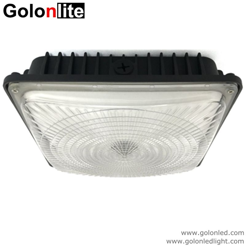 Led Canopy Light 60w 100 277vac Dimmable 5 Years Warranty 130lm W High Efficiency Super Bright Factory Low Price Olivia Golonledlight Canopy Lights Canopy Led