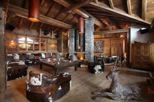 Décoration intérieur chalet montagne : 50 idées inspirantes | Woods ...