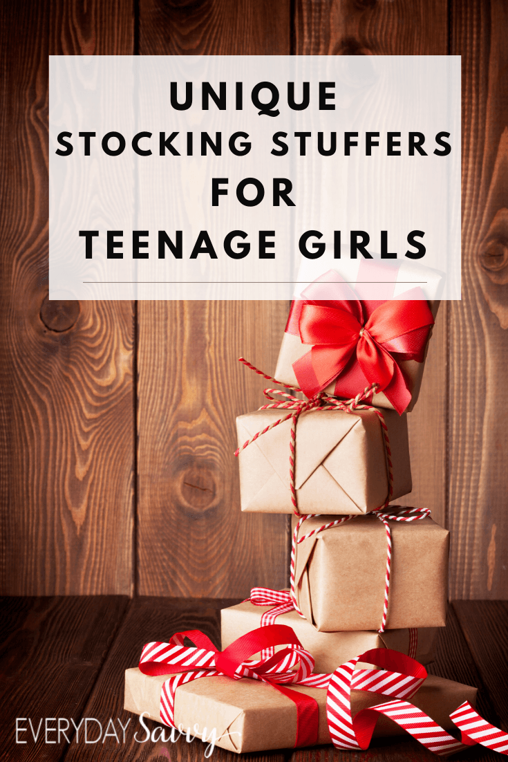 You will love these unique stocking stuffer ideas for teenage girls We found lots of great things to stuff those stockings
