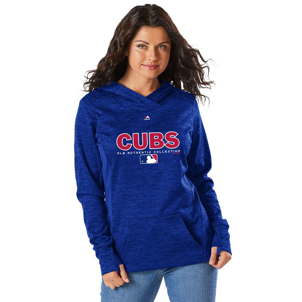 Chicago Cubs Women S Authentic Collection Ultra Streak Fleece Hoodie By Majestic Chicagocubs Chicago Cubs Outfit Cubs Sweatshirt Chicago Cubs Sweatshirt [ 1000 x 1000 Pixel ]