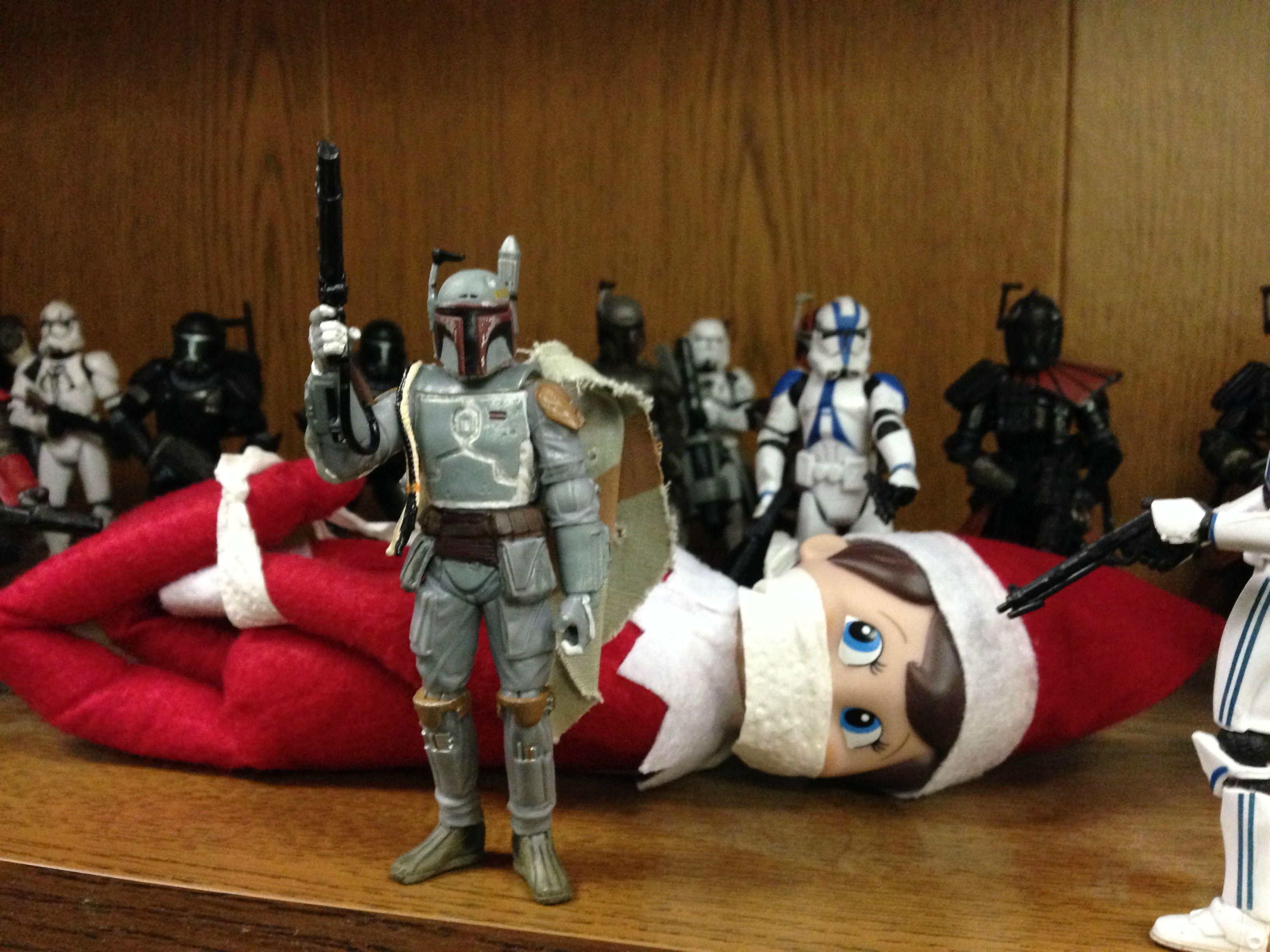 So my office has an Elf on the Shelf, and I decided to