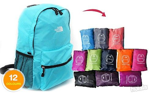 The North Face OEM Lightweight & Waterproof Foldable Backpack ...