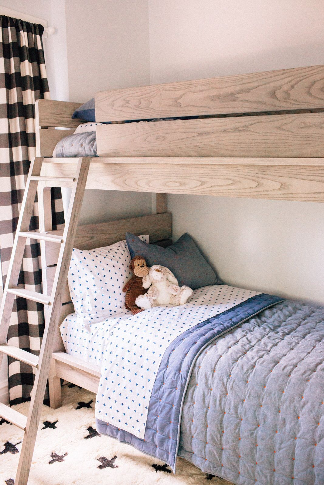 Kids Grey Twin Bunk Bed Reviews Crate And Barrel Bunk Beds For Boys Room Rustic Kids Rooms Bunk Bed Rooms