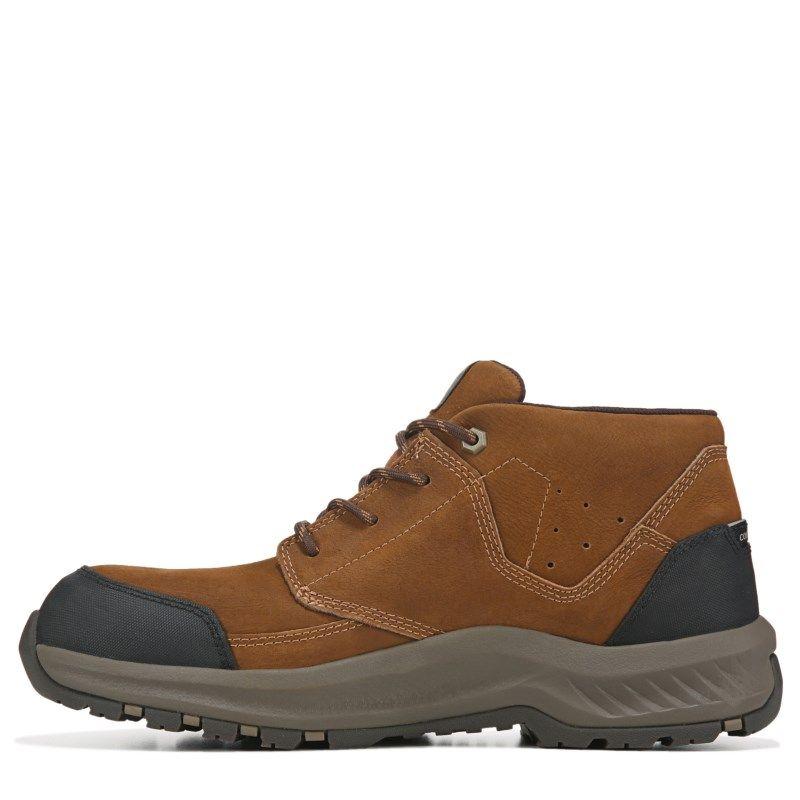 Caterpillar Men's Resolve Mid Medium/Wide Slip Resistant Work Shoe Boots (Brown)