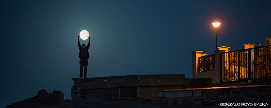 Man on the moon by Gonzalo Royo on 500px