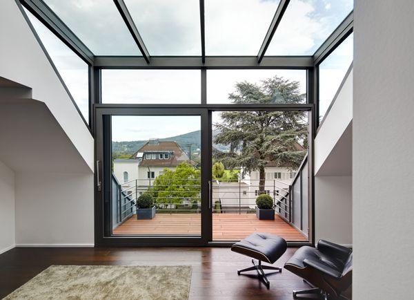 Villa K Aussicht Durch Die Glasgaube Huisideeen Pinterest