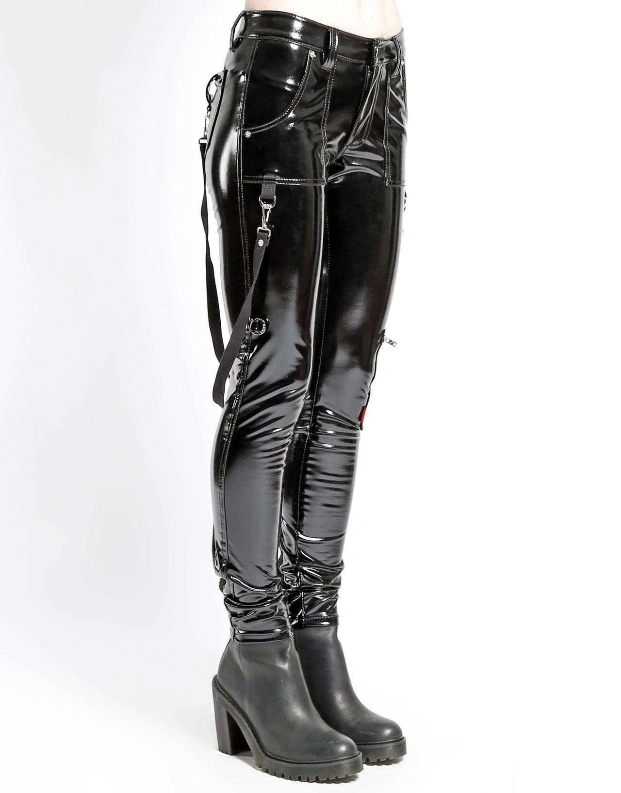 TRIPP NYC » VINYL BONDAGE PANT Biker Leather, Leather Trousers, Latex  Dress, Hot aa2dac3a7c