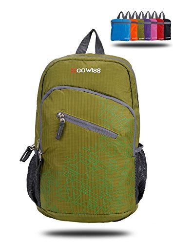 Gowiss Backpack - Rated 20L   33L- Most Durable Packable Convenient  Lightweight Travel Backpack Daypack - Waterproof,Ultralight and Handy -  Lifetime ... 4bb8bf868c
