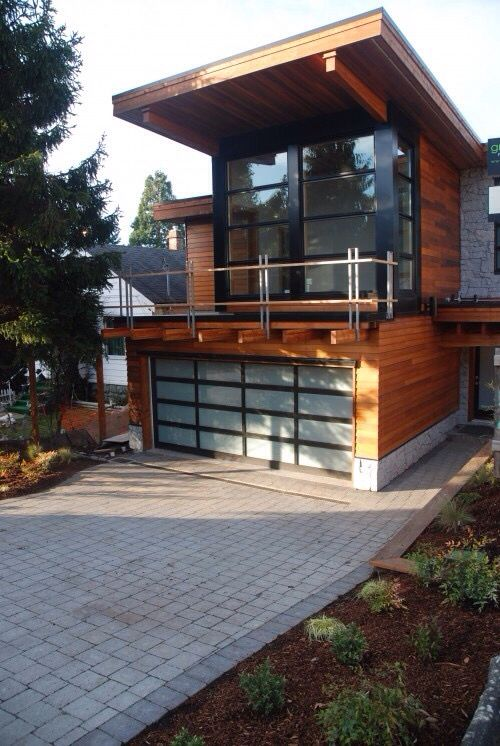 Modern Garage Door Design Modern Garage Garage With Living Quarters