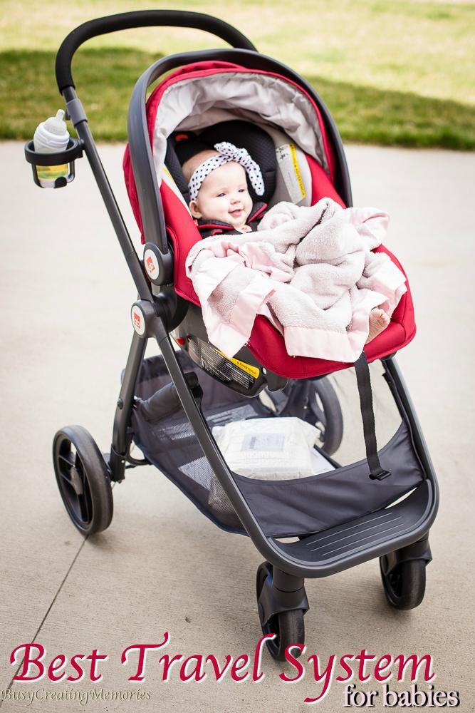 GB Lyfe Pram Travel System makes Walking with Baby a