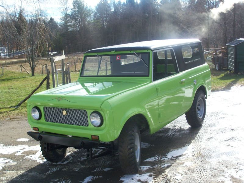 1962 international harvester scout fine condition look