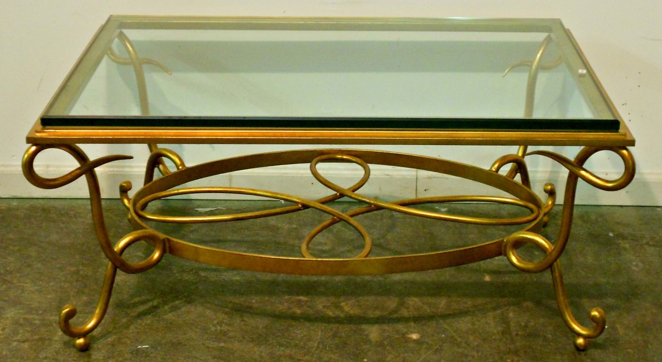 Glass Top Coffee Tables With Wrought Iron Base Modern Wood Furniture Check More At Http Glass Coffee Table Makeover Iron Coffee Table Coffee Table Makeover