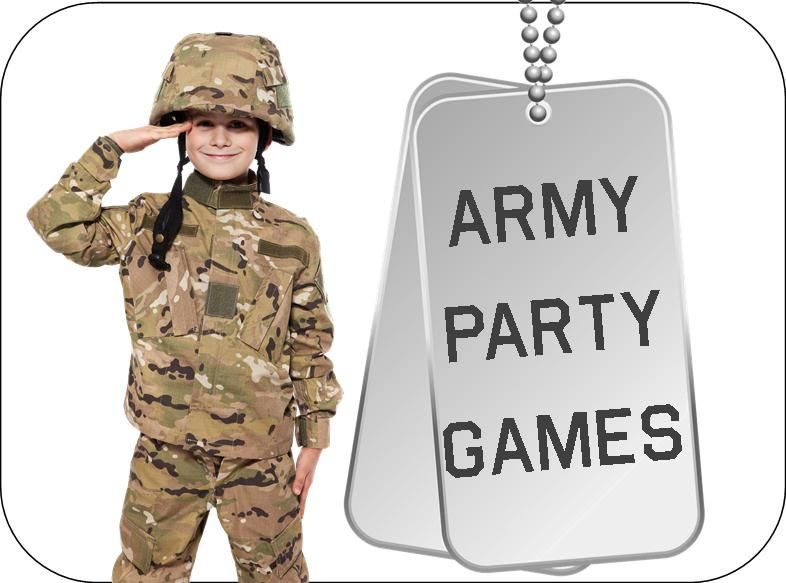 Army Party Games And Ideas Plus Printable Supplies