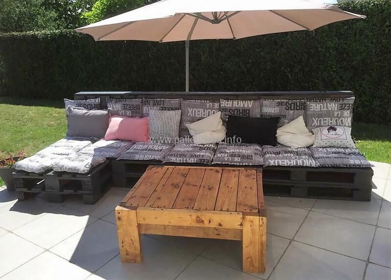 easy to make wood pallet projects ideas pallet garden furniturepallet - Easy Garden Furniture To Make