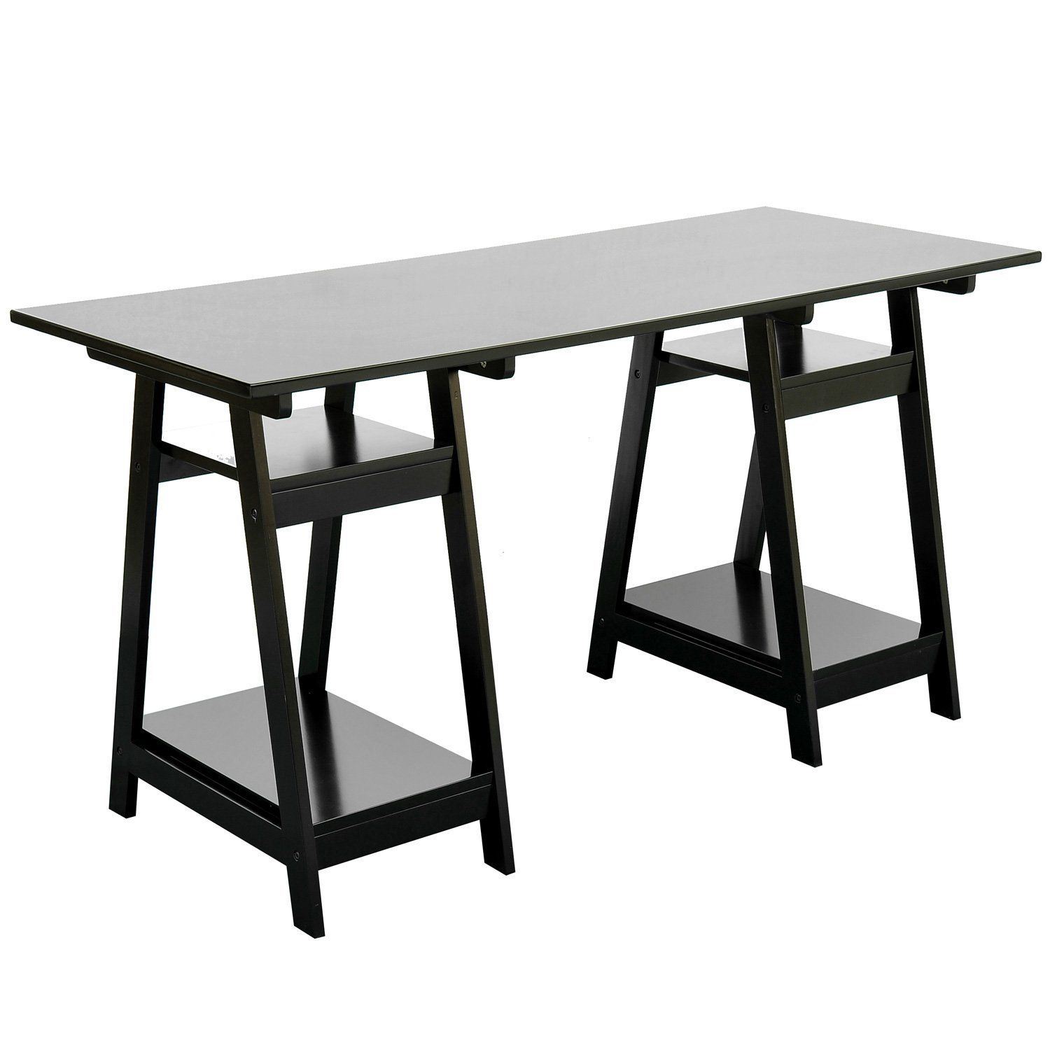 writing table computer desks and computers on pinterest amazoncom coaster shape home office computer