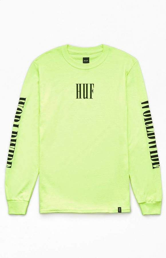 0b20f09ace99 HUF Marka Long Sleeve T-Shirt in 2019 | Products | Shirts, T shirt, Huf