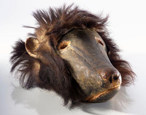 Bear Mask by  Unknown Artist