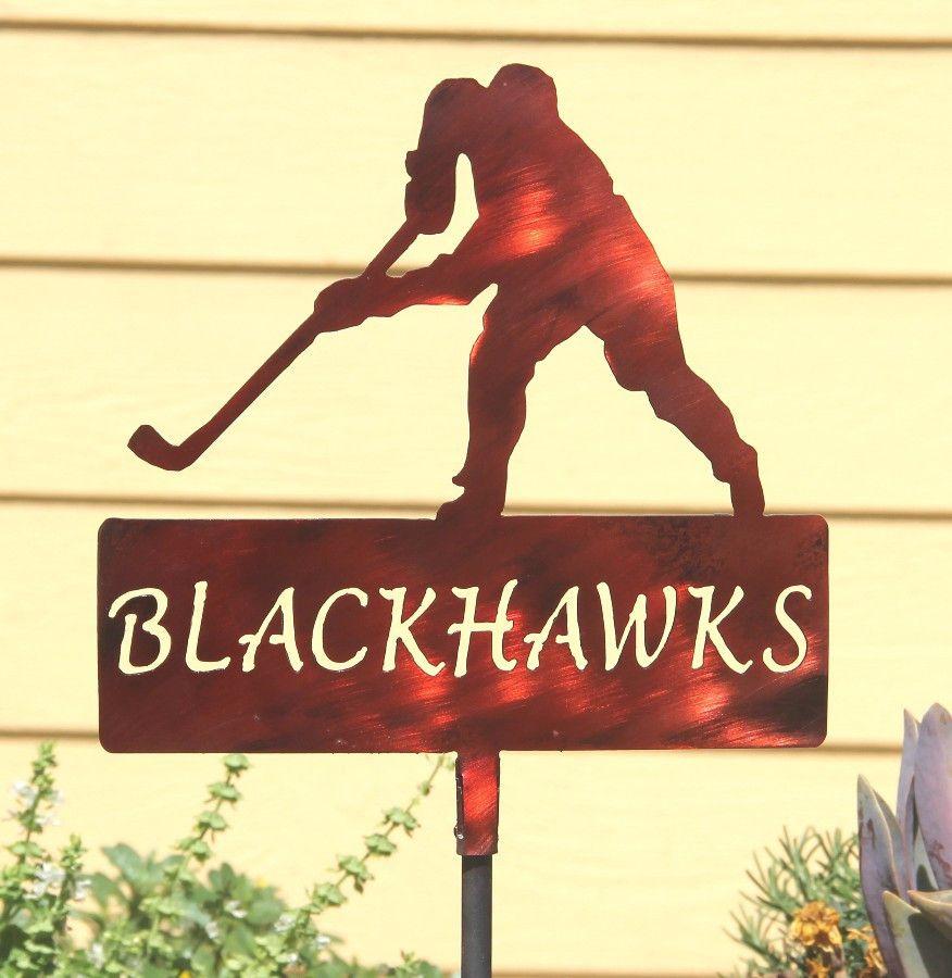 Hockey Team Yard Signs: Personalized Sports Yard Decoration ...
