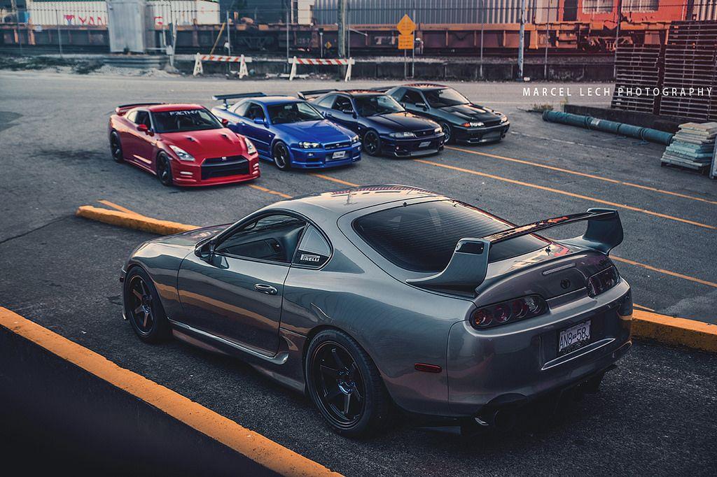 Supra Vs Gtr S Street Racing Cars Toyota Supra Super Luxury Cars