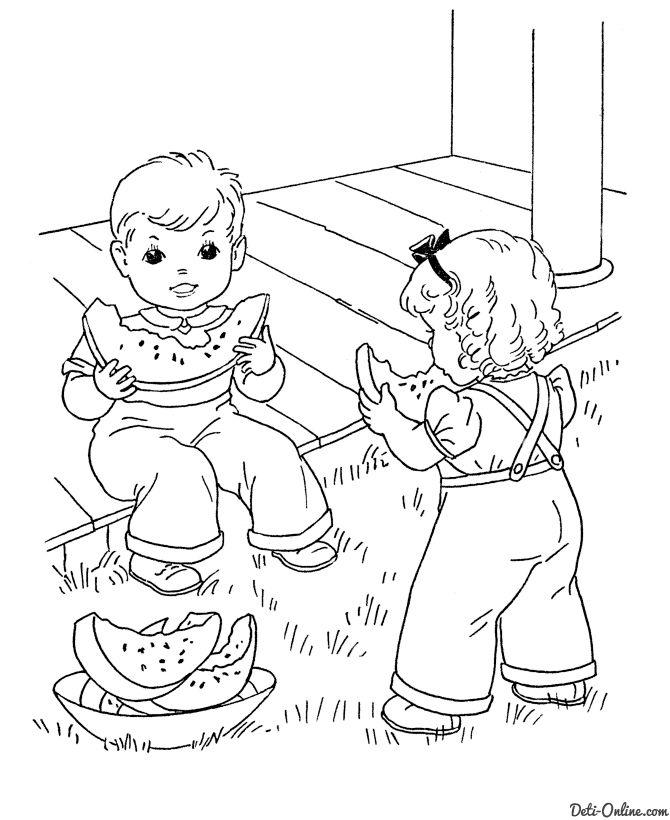 Pin de Катя Моя en Раскраска детская | Pinterest