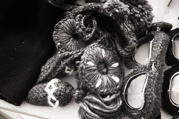 gorgeous crochets / Kiss by Fiona Bennett by Rene Bieder, via Behance