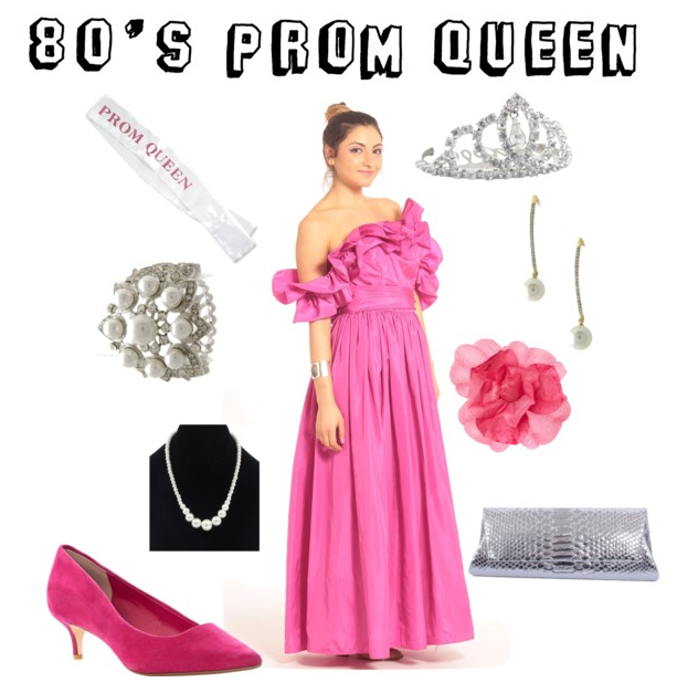Halloween Costume Ideas That Benefit Charity 80s Prom Queen